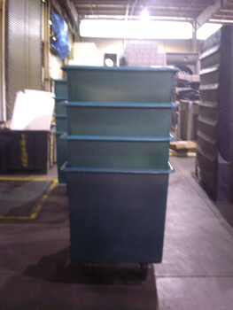 20 Bushel Carts Nested, 20 Bushel Laundry Carts, 20 Bushel Carts Storage