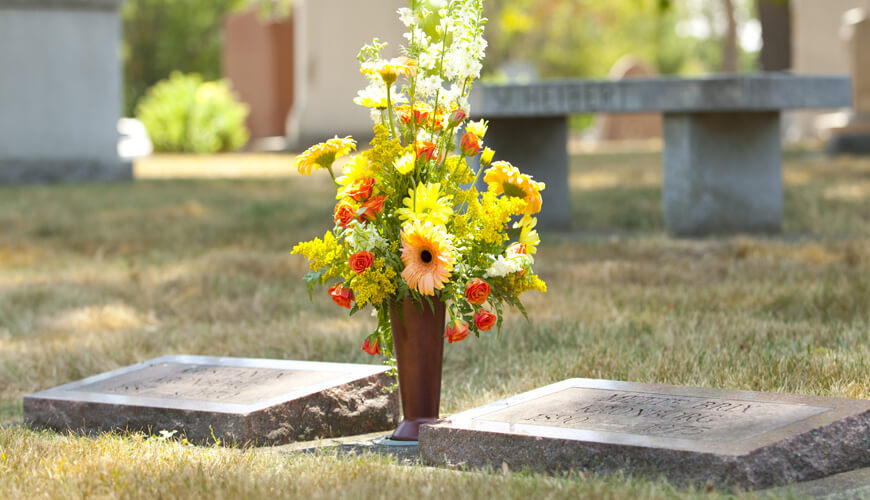 Cemetery Flower Vases Cemetery Vases Theft Deterrent Cemetery Vase & Cemetery Vases | Cemtery Flower Vases | Rotational Molding Cemetery ...