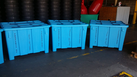Bulk Storage Containers Rotational Molding Bulk Storage Containers