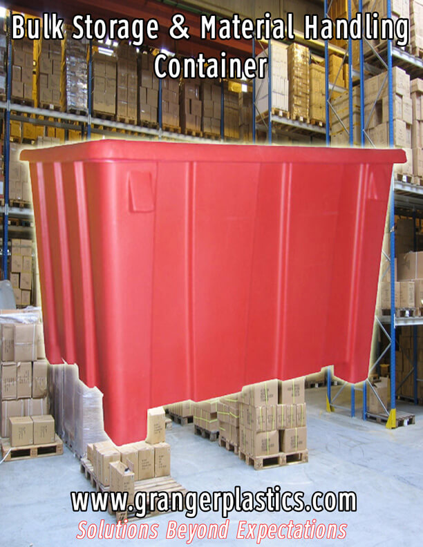 GP 1004 Bulk Storage Containers, GP 1004, Bulk Storage Containers, Bulk Shipping Containers, Poly Gaylord Containers