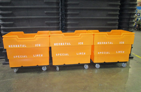 GP 16 Carts, GP 16 Laundry Carts, GP 16 Recycling Carts, GP 16 Linen Carts