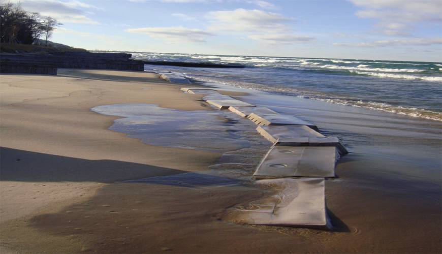 Beach Erosion Solution, Natural Solution to Beach Erosion, Stop Beach Erosion, naturally renourish beaches, dredging alternative