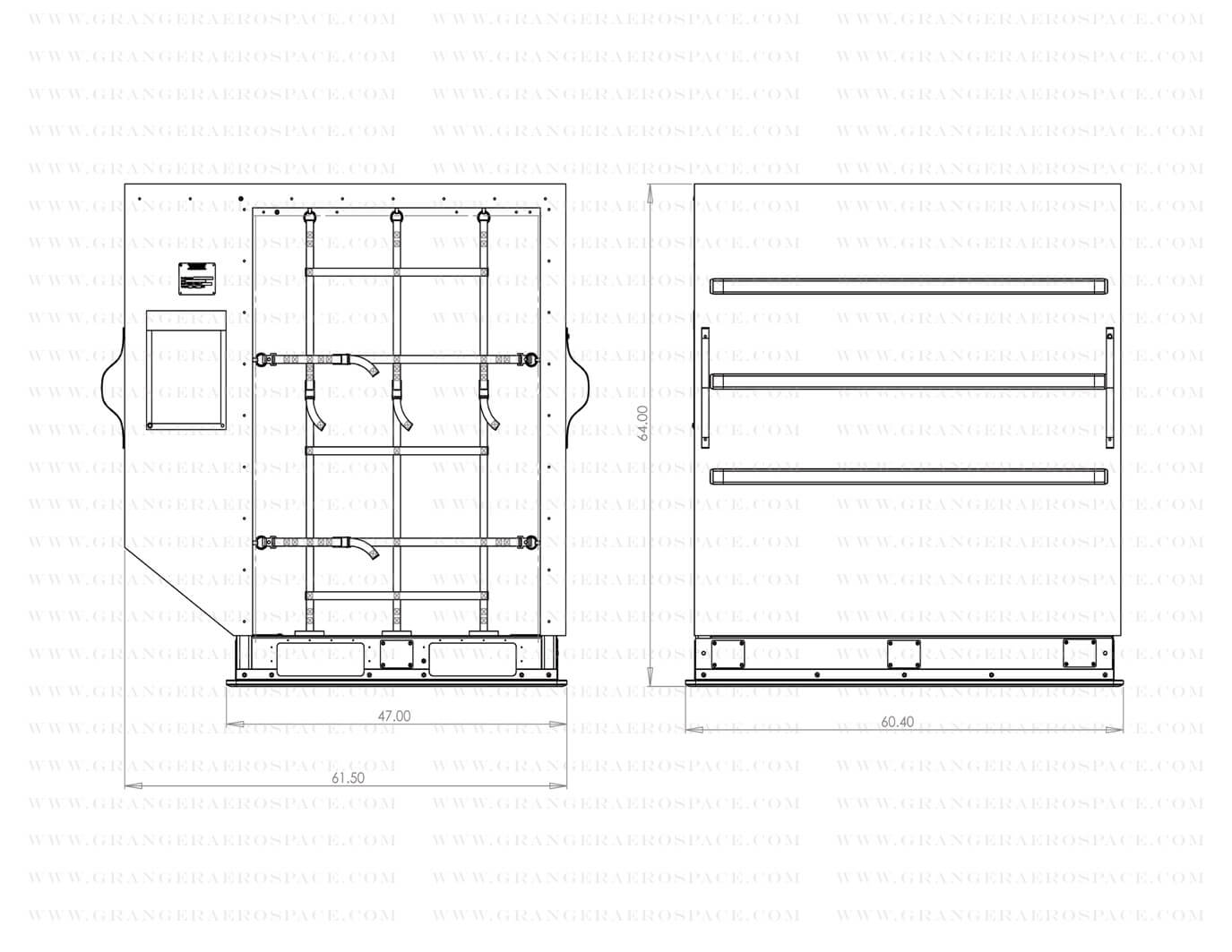 LD 2 Dimensions, LD 2 Air Cargo Container Dimensions, DPN dimensions