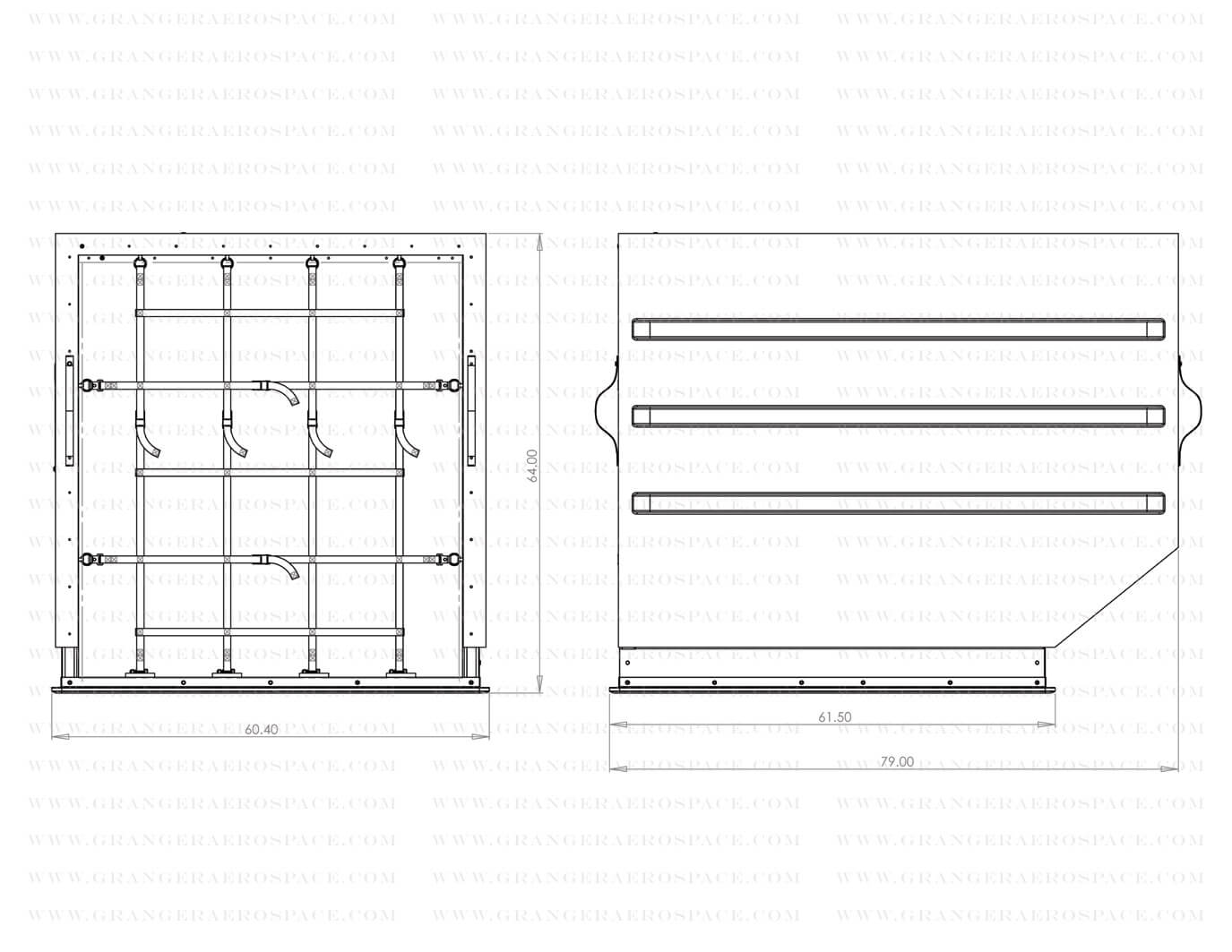 LD 3 Dimensions, LD 3 Air Cargo Container Dimensions, AKE dimensions