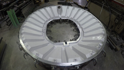 Fabricated Aluminum Mold for Rotational Molding, Molds for Rotomolding, Molds for Rotational Molding