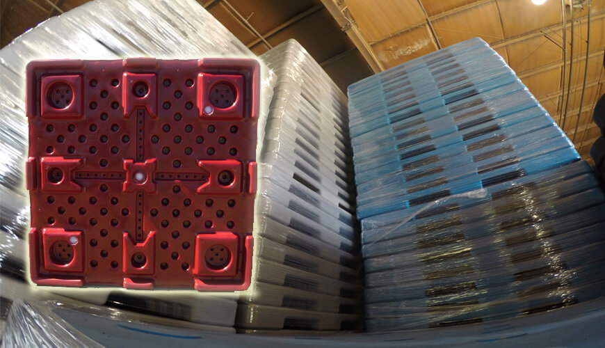 Plastic Pallets, Custom Plastic Pallets, Rotomolded Plastic Pallets, Plastic Rotationally Molded Pallets, Custom Rotomoulded Plastic Pallets