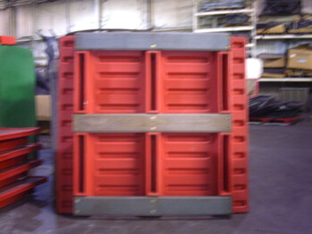 Rackable Pallet, Plastic Pallet for Racks, Rack System Plastic Pallet