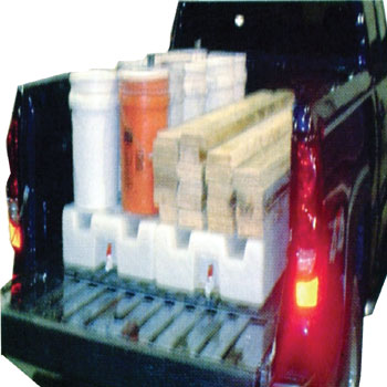 PIck Up Truck Water Tanks, All Weather Traction Device, Potable Water in the Bed of Truck, Pick Up Truck Water Tanks