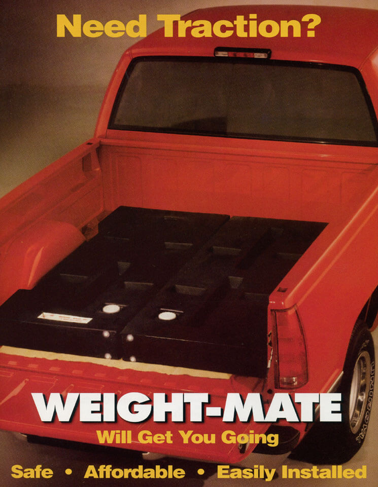 All Weather Traction Device, Weight Mate, Weight for Traction for Trucks, Add Weight To Truck, Adding Weight to Pick Up Truck